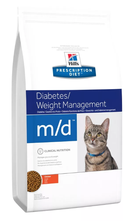 Ветеринарный корм для кошек, страдающих диабетом