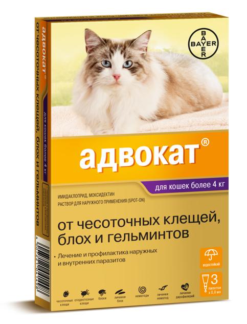 Гели для лечения кошек