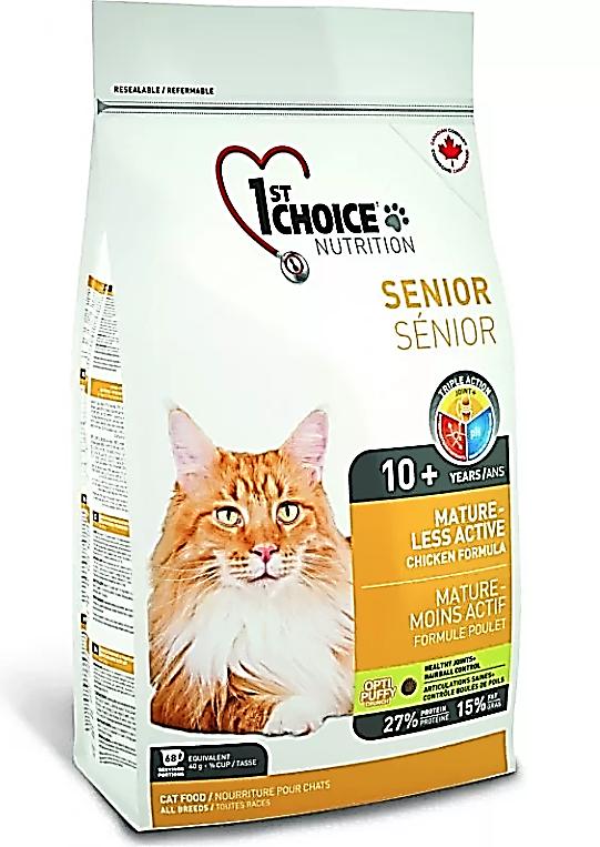Готовое питание для кошек старше 10 лет