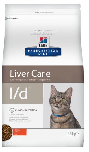 Диетический корм для кошек с заболеваниями печени