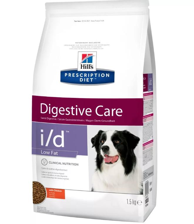 Ветеринарный корм для собак с пищеварительными расстройствами