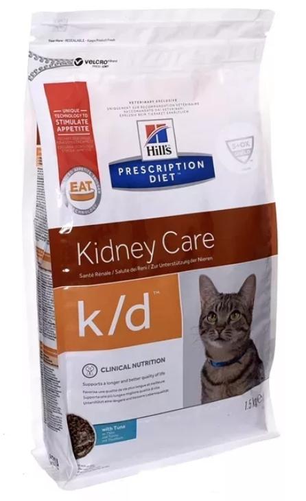 Готовое питание для кошек с заболеваниями почек