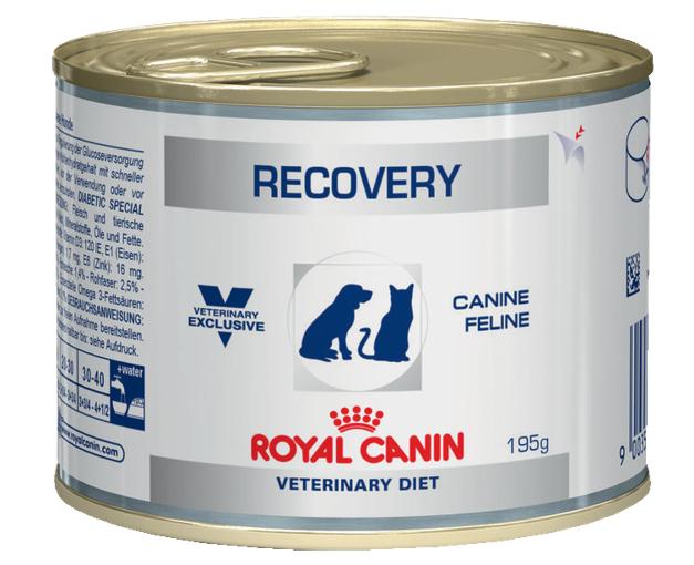 Лечебное питание для кошек и собак, восстанавливающихся после оперативного вмешательства