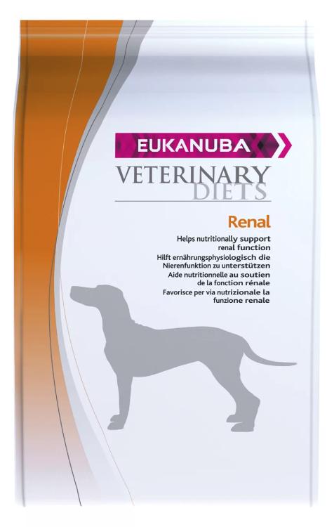 Ветеринарное питание для собак с заболеваниями почек